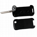 2Button Key Shell Remote Folding Key Fob