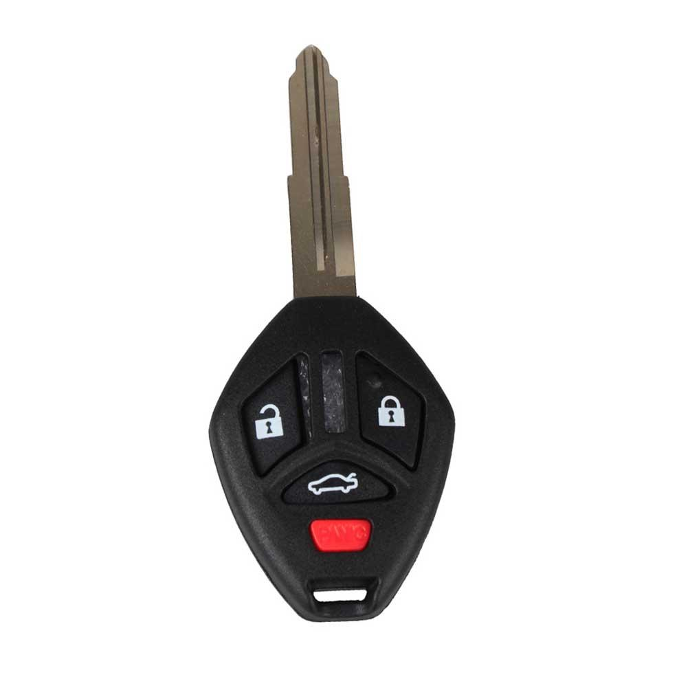 4 Buttons Left Groove Replacement Remote Key Shell Fob Case Housing For Mitsubis 1