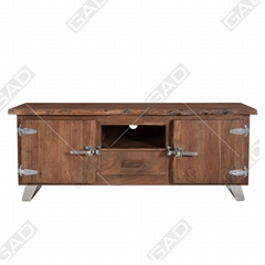 THE VOGUISH INDUSTRIAL SIDEBOARD