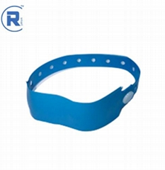 Mifare festival paper wristband silicone rfid wristband
