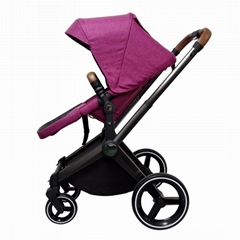Multi-function High Landscape 3 in 1 Baby Stroller With EN1888