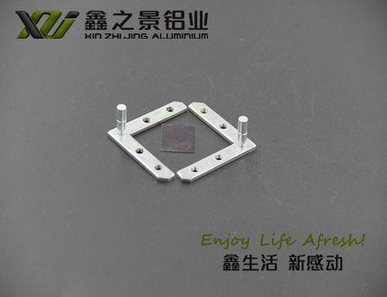 鑫之景3.3公分雙面磁吸燈箱鋁型材 4