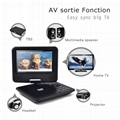 wholesale 7' portable dvd player video format 2