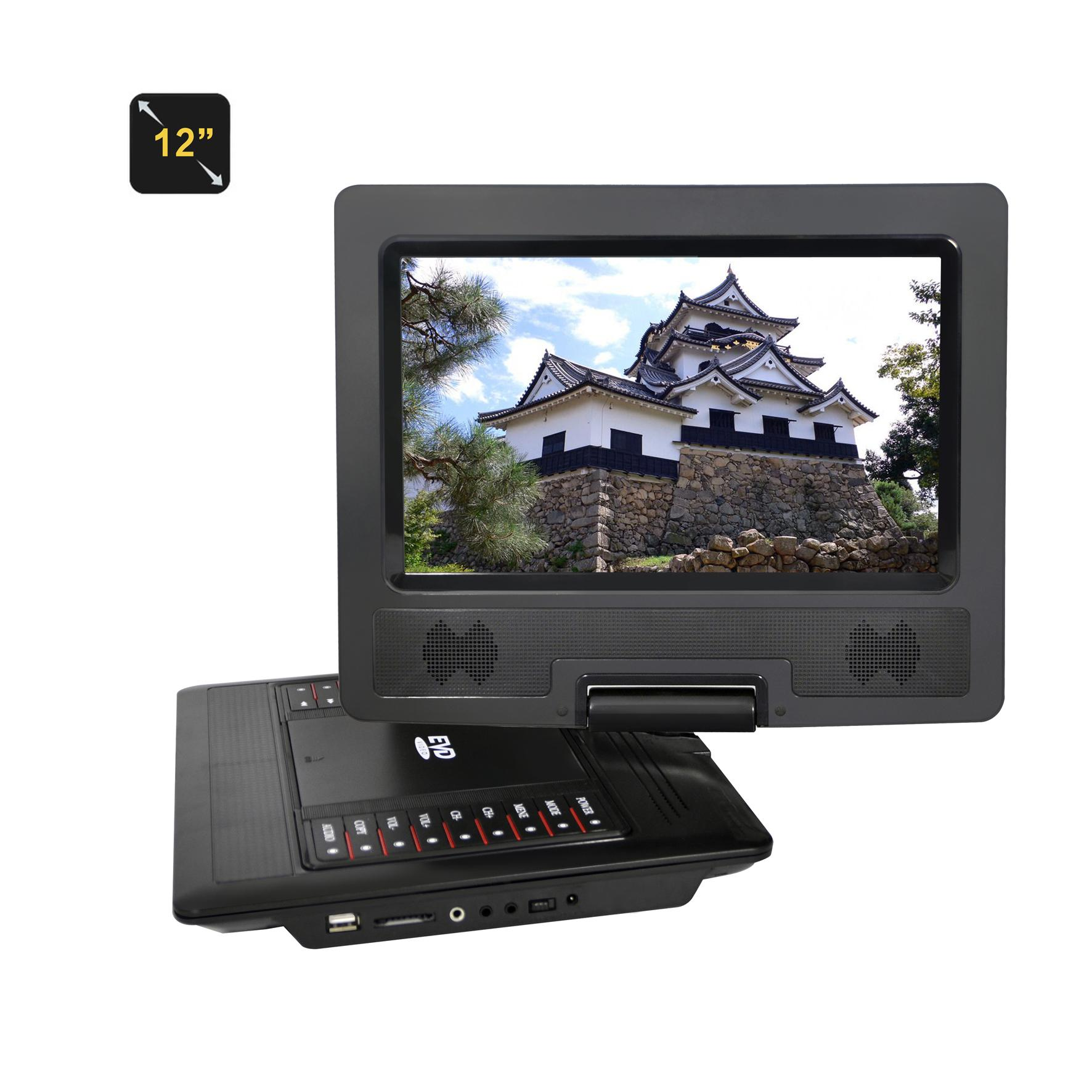 Factory 12 INCH portable DVD player 3