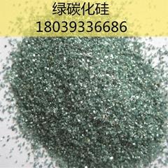 绿色碳化硅磨料
