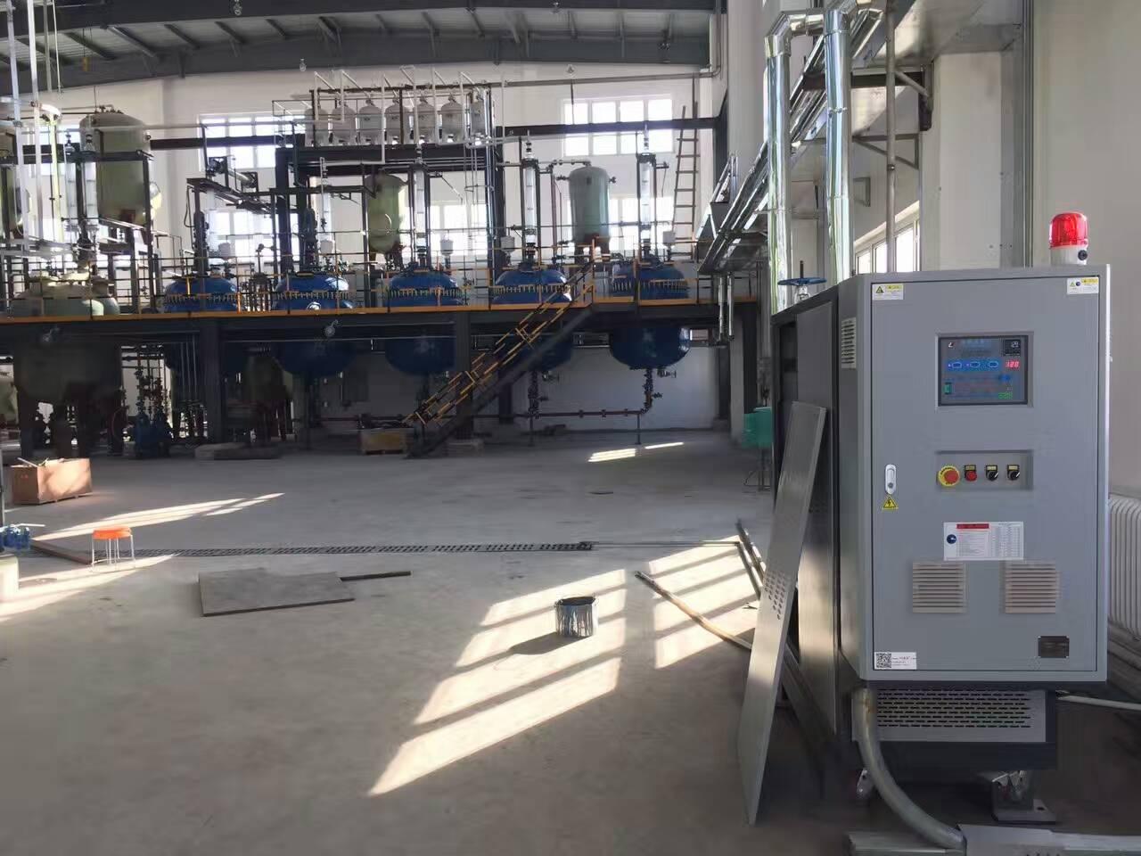 供熱系統安全平板硫化機油加熱器 5