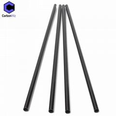 China Factory Wholesale Custom Round 3K Twill Plain Carbon Fiber Tube