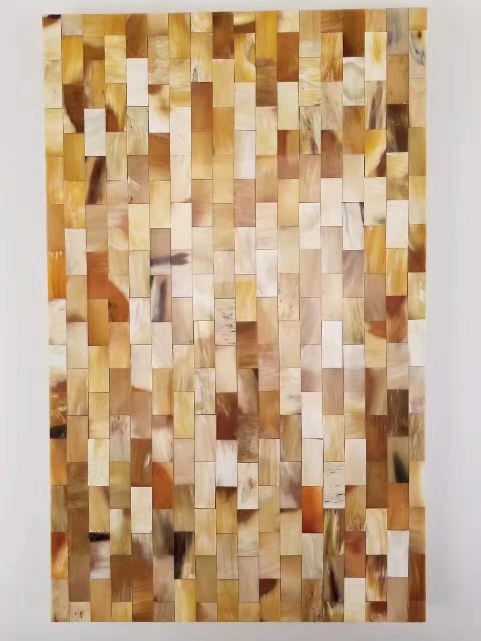 牛角牛骨装饰板 1