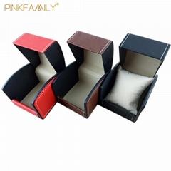 High Grade Leather Custom Storage Display Watch Box Jewelry Box