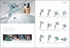Glass Waterfall Bathroom