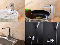 High Quality Square Basin Faucet Single Lever Shower Mixer