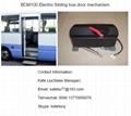 Electric bi-fold bus door opener  for