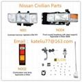 Nissan civilian head lamp,Nissan