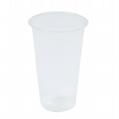 PLA Corn Plastic Clear Eco Friendly Cold