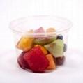 24 oz Compostable Round PLA Corn Plastic Deli Containers with Lids Biodegradable 1