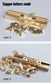 T slot 10cm Fixture + 52 Alphabet
