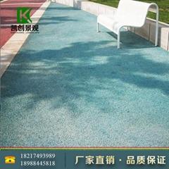安顺市彩色透水混凝土面漆