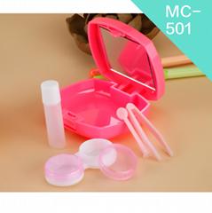 wholesale cheap custom cute design travel use contact lens case