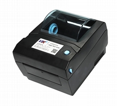 Thermal receipt printer or barcode label printer with USB port
