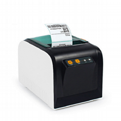 Industrial thermal printer 80mm Sticker Printing Machine With USB Serial Port