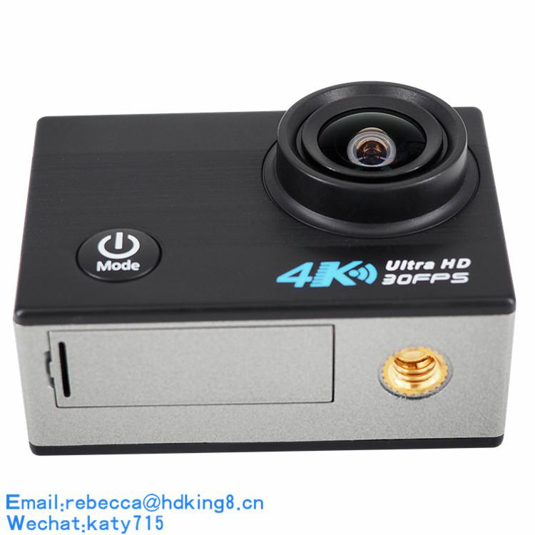 Dual Screen 4K Wifi 2.4 with APP Action Camera for Helmet,Drone,Bike,Motorcycle 4