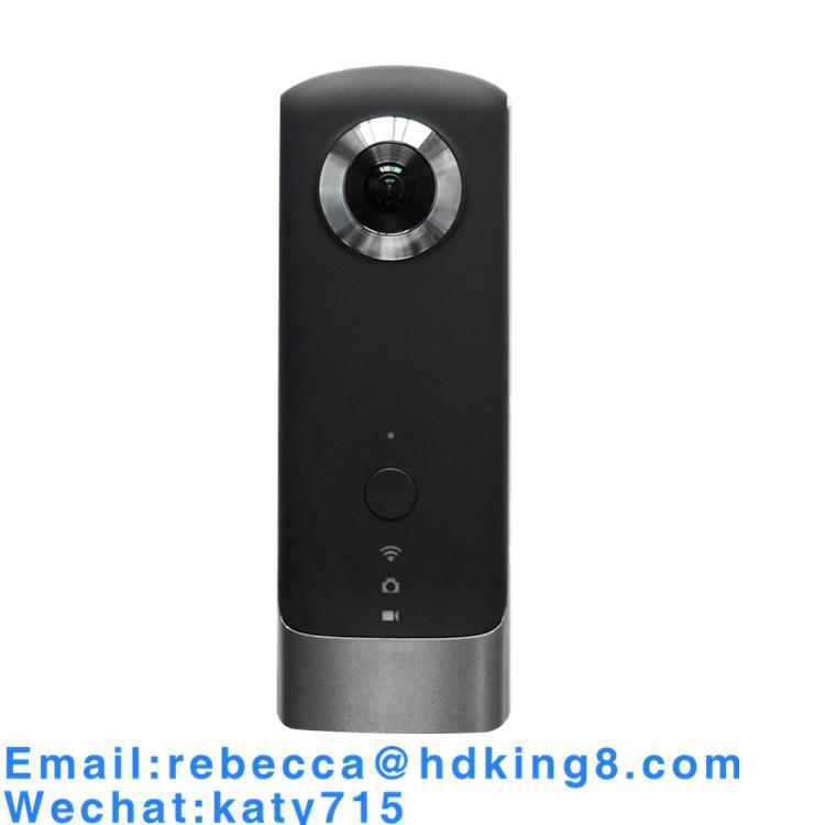 720度雙鏡頭vr全景相機4K拍攝1080p多種3D預覽8G廣角wifi運動攝像機 1