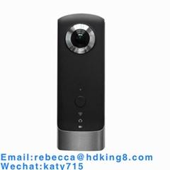 720度雙鏡頭vr全景相機4K拍攝1080p多種3D預覽8G廣角wifi運動攝像機