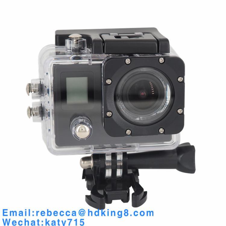 Dual Screen 170 Degree IMAX179 Mini Waterproof Sports Camera Mini DV 1