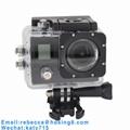 Dual Screen 170 Degree IMAX179 Mini Waterproof Sports Camera Mini DV