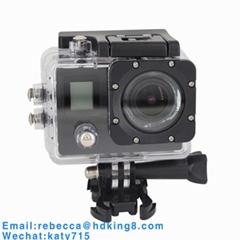 雙屏170度IMAX179迷你防水運動相機迷你DV