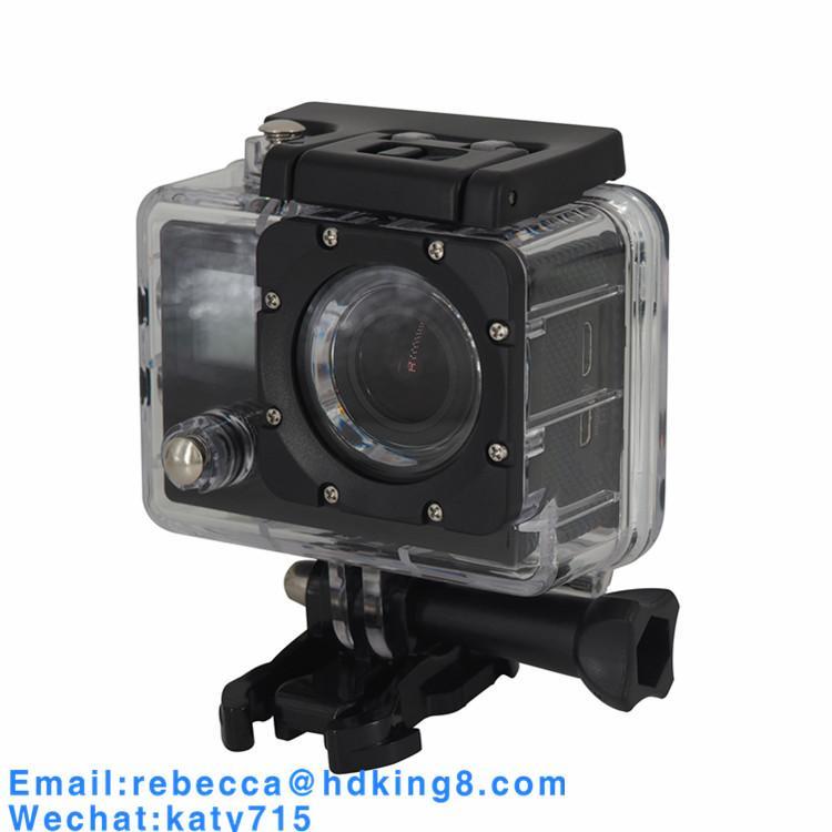 Dual Screen 170 Degree IMAX179 Mini Waterproof Sports Camera Mini DV 4
