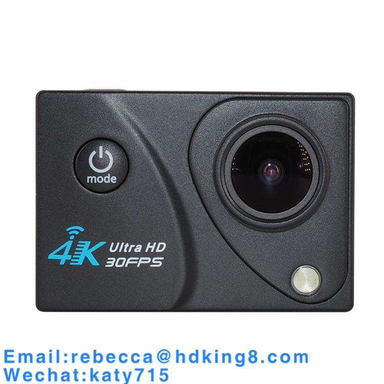 2 Inch LTPS 4K 30FPS Night Vision LED Touch SOS Action Camera 3