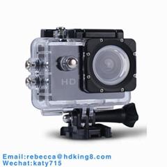 经济型迷你运动相机带30米深防水罩