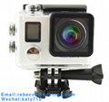 NTK96660 2 Inch Wifi Action Camera with 2.4G Waterproof Remote Control 4