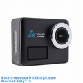 2.31inch Touch Screen 4K 24FPS 3.8V 1200mAh Waterproof Action Cam Camera 2