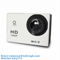 1080P Action Camera H.264 Support