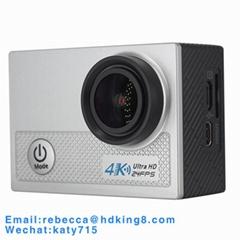 聯詠方案索尼傳感器IMX258 2寸高清屏迷你相機支持語音提示