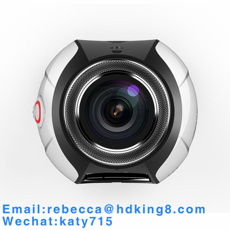 360 Degree VR Panoramic Action Camera with HDKing V1A 2