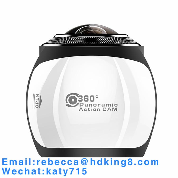 360 Degree VR Panoramic Action Camera with HDKing V1A 1