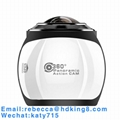 360 Degree VR Panoramic Action Camera with HDKing V1A