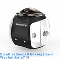 360 Degree VR Panoramic Action Camera with HDKing V1A 3