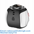 360 Degree VR Panoramic Action Camera with HDKing V1A 4