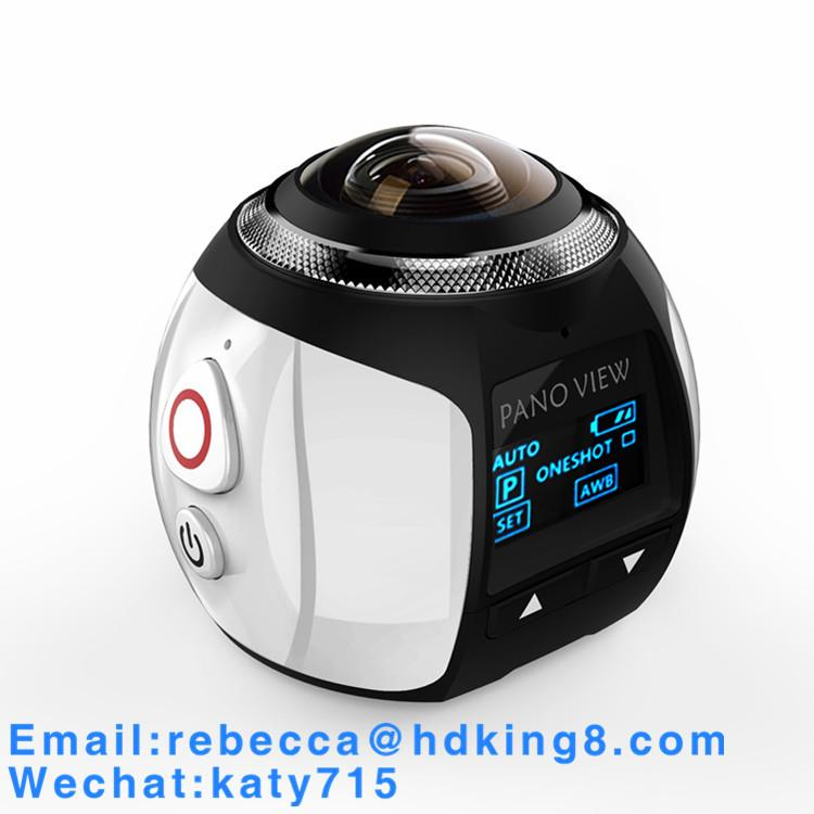 360 Degree VR Panoramic Action Camera with HDKing V1A 5