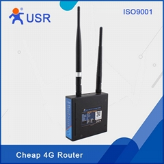 Industrial Wireless 4G LTE Router supports WIFI 3G with CE/RoHs