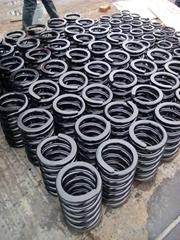 large wire diameter spring