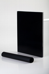Black color eva film for laminated glass