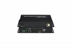 HDMI高清视频光端机_乐迪信息光纤传输
