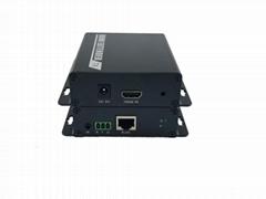 乐迪信息HDMI网络传输器光纤传输