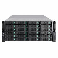 乐迪信息24盘位128路4K网络NVR存储服务器录像机