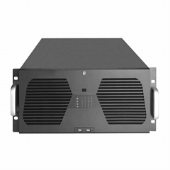 乐迪信息16盘位 H.265 64路4K网络NVR存储服务器